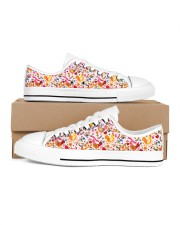 Chicken Beauty Many Patterns  Women's Low Top White Shoes tile