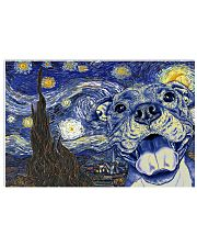 Pit Bull Van Gogh   17x11 Poster front