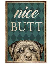 Rottweiler Nice Butt 11x17 Poster front