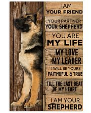 German Shepherd I Am Your Friend Poster 16x24 Poster front