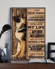 German Shepherd I Am Your Friend Poster 16x24 Poster lifestyle-poster-2