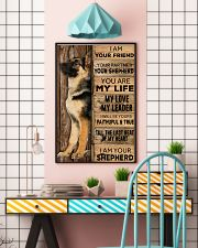 German Shepherd I Am Your Friend Poster 16x24 Poster lifestyle-poster-6