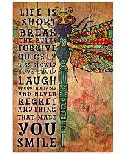Hippie Life Is Short Break Poster 11x17 Poster front