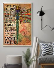Hippie Life Is Short Break Poster 11x17 Poster lifestyle-poster-1