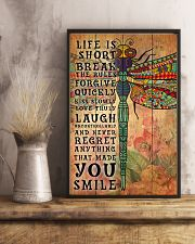 Hippie Life Is Short Break Poster 11x17 Poster lifestyle-poster-3
