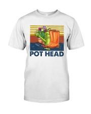 Gardening Pot Head Classic T-Shirt front