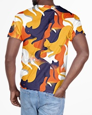 Cat 3D Colorful Camouflage All-over T-Shirt aos-all-over-T-shirt-lifestyle-back-03