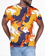 Cat 3D Colorful Camouflage All-over T-Shirt aos-all-over-T-shirt-lifestyle-front-04