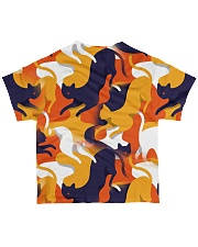Cat 3D Colorful Camouflage All-over T-Shirt back