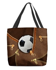 Soccer Beauty Totebag All-over Tote front