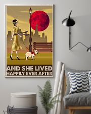French Bulldog And She Lived Happily 11x17 Poster lifestyle-poster-1