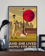 French Bulldog And She Lived Happily 11x17 Poster lifestyle-poster-2