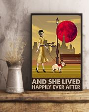 French Bulldog And She Lived Happily 11x17 Poster lifestyle-poster-3