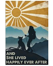 Hiking And She Lived Happily 11x17 Poster front