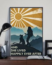 Hiking And She Lived Happily 11x17 Poster lifestyle-poster-2