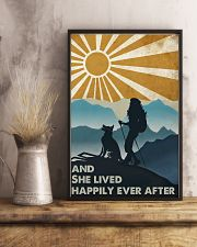 Hiking And She Lived Happily 11x17 Poster lifestyle-poster-3