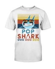 Pop Shark Doo Doo Doo Classic T-Shirt front