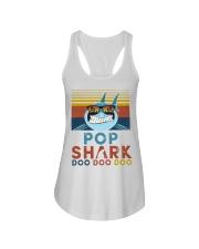 Pop Shark Doo Doo Doo Ladies Flowy Tank tile