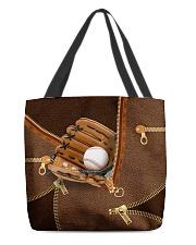 Baseball Beauty Totebag All-over Tote back