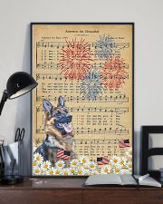 German Shepherd America The Beautiful 16x24 Poster lifestyle-poster-2