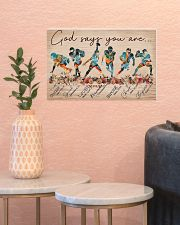 American Football God Says You Are 17x11 Poster poster-landscape-17x11-lifestyle-21