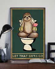 Yoga Let That Sh Go 11x17 Poster lifestyle-poster-2