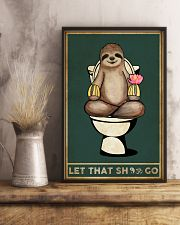 Yoga Let That Sh Go 11x17 Poster lifestyle-poster-3