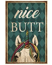 Unicorn Nice Butt 11x17 Poster front