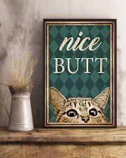 Cat Nice Butt 16x24 Poster lifestyle-poster-3