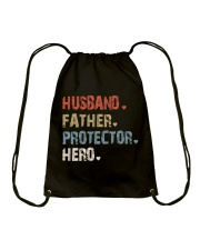 Father Hero Protector Hero Drawstring Bag tile