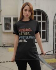 Father Hero Protector Hero Classic T-Shirt apparel-classic-tshirt-lifestyle-19