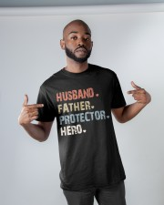 Father Hero Protector Hero Classic T-Shirt apparel-classic-tshirt-lifestyle-front-32