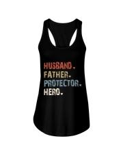 Father Hero Protector Hero Ladies Flowy Tank tile