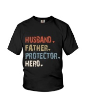 Father Hero Protector Hero Youth T-Shirt tile