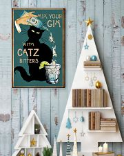 Cat Mix Your Gin Poster 16x24 Poster lifestyle-holiday-poster-2