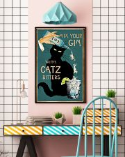 Cat Mix Your Gin Poster 16x24 Poster lifestyle-poster-6