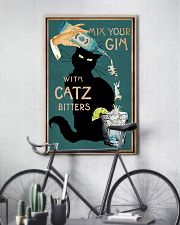 Cat Mix Your Gin Poster 16x24 Poster lifestyle-poster-7
