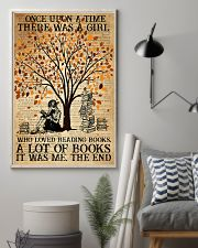 Book There Was A Girl Loving Books 16x24 Poster lifestyle-poster-1