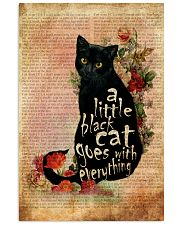 A Little Cat Goes With Everything 16x24 Poster front