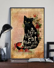 A Little Cat Goes With Everything 16x24 Poster lifestyle-poster-2