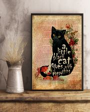 A Little Cat Goes With Everything 16x24 Poster lifestyle-poster-3