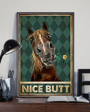 Horse Nice Butt Poster 11x17 Poster lifestyle-poster-2