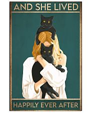 Cat And She Lived Happily Ever After02 16x24 Poster front