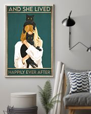 Cat And She Lived Happily Ever After02 16x24 Poster lifestyle-poster-1