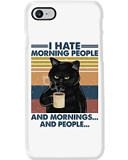 Cat I Hate Morning People Phone Case tile