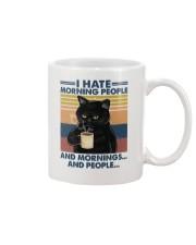 Cat I Hate Morning People Mug tile