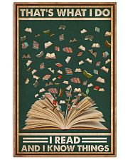 Books That's What I Do I Read 16x24 Poster front