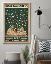 Books That's What I Do I Read 16x24 Poster lifestyle-poster-1