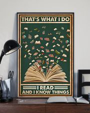 Books That's What I Do I Read 16x24 Poster lifestyle-poster-2