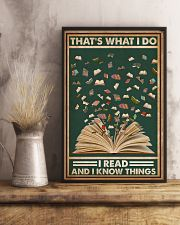 Books That's What I Do I Read 16x24 Poster lifestyle-poster-3